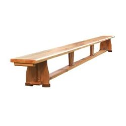 Ławka z nogami drewnianymi