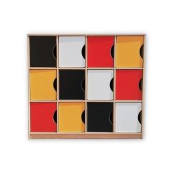 Kolorowe Skrytki Maxi 12