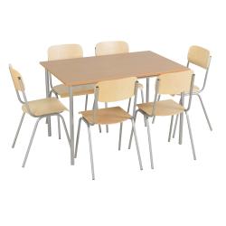 Zestaw stół prostokątny...