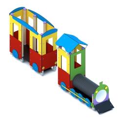 Lokomotywa z wagonem A